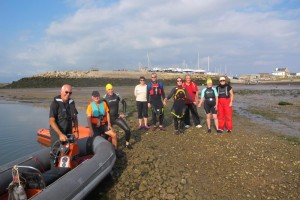 Roa Island Charity Swim 2014