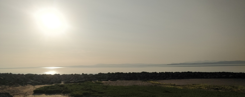 Morecambe Bay from the Venus and Child statue